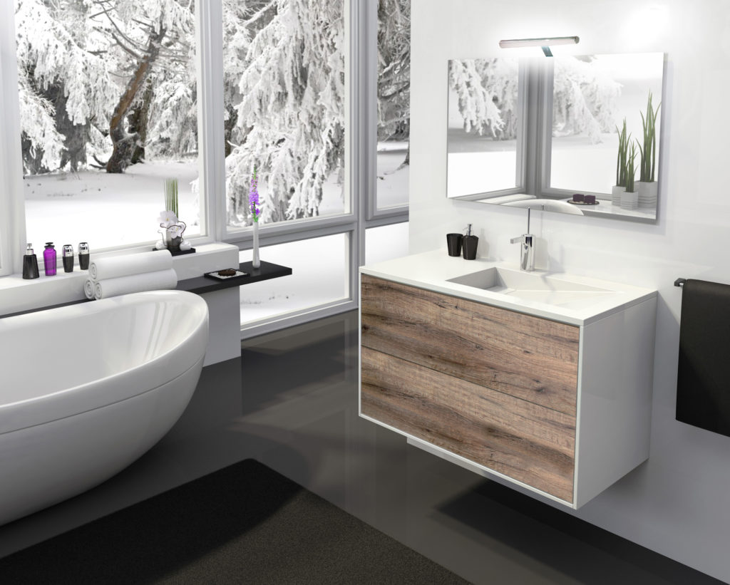 Bathroom furniture EPURE