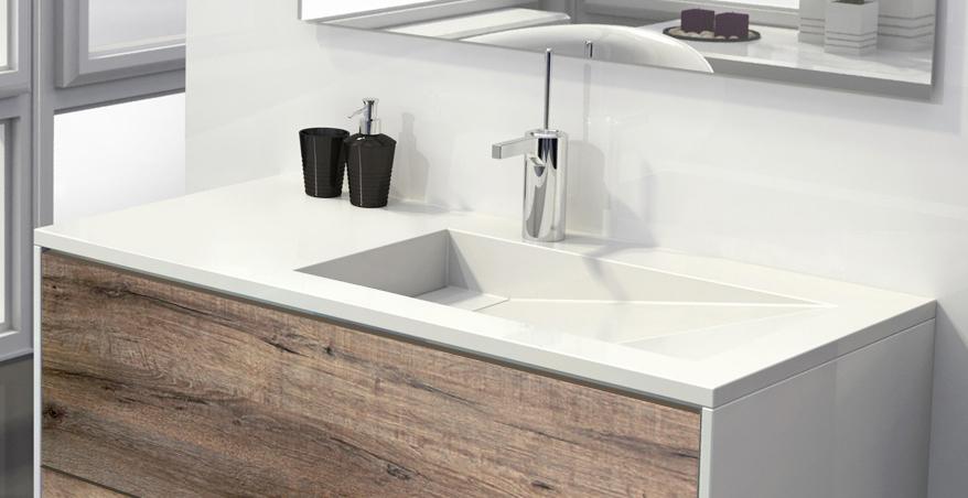 Vasque design meuble de salle de bain EPURE