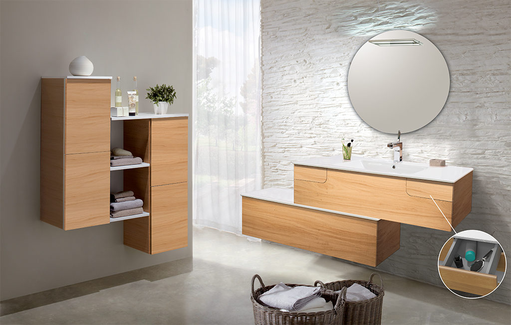 Meuble de salle de bain LIDO Paris Collection EVOK