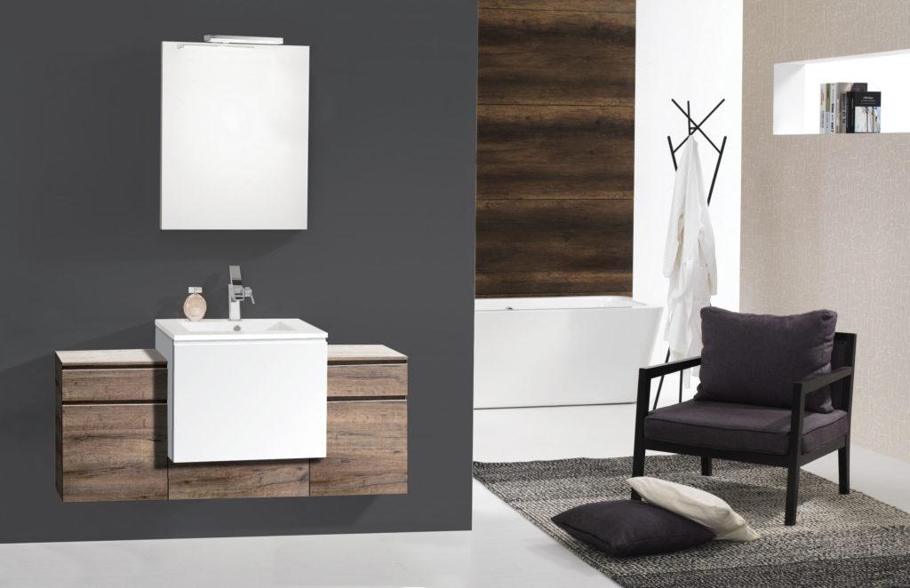 Meuble de salle de bains Modulo gamme composable