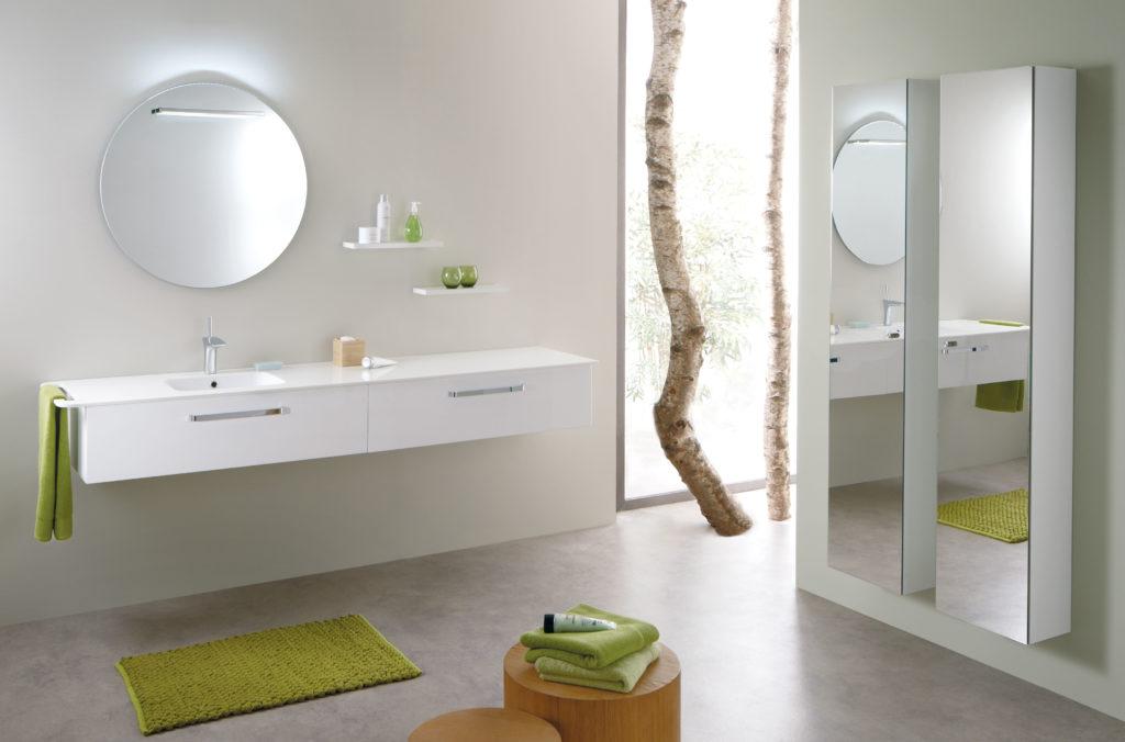 Meuble de salle de bains composable OPUS