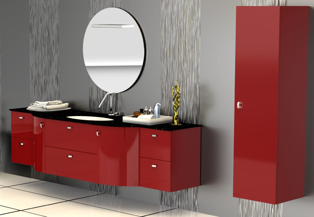 Modular bathroom furniture