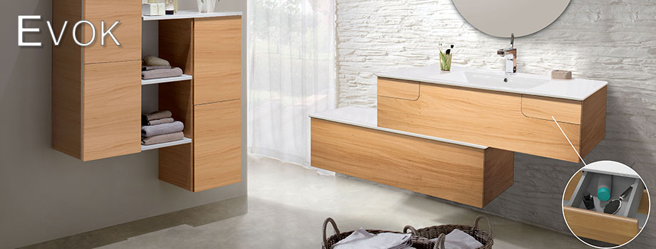 EVOK bathroom furniture