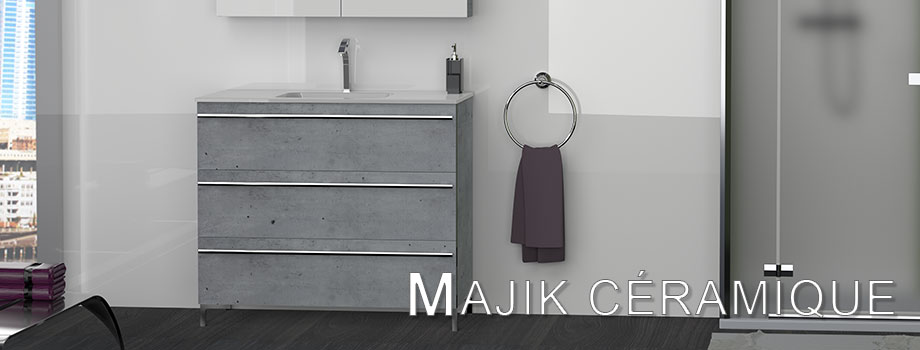 MAJIK CERAMIQUE bathroom furniture