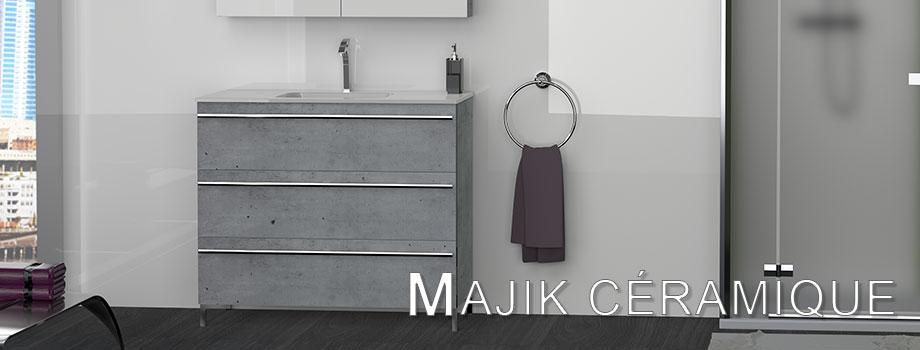 fabricant salle de bain design Meubles de salles de bain LIDO Paris Collection MAJIK CERAMIQUE
