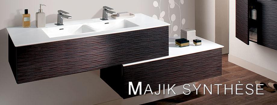 Meubles de salles de bain LIDO Paris Collection MAJIK SYNTHESE