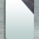 miroir horizontal coins arrondis LIDO Paris