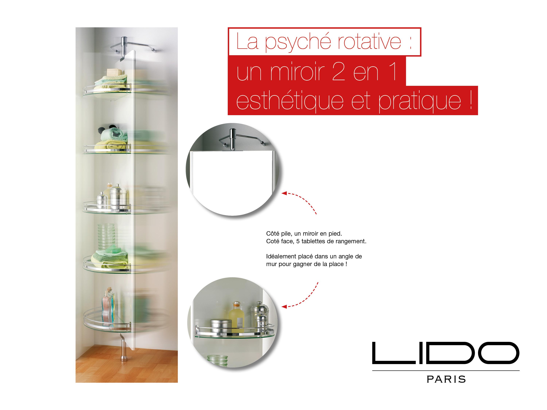 Miroir 2 en 1 Lido Paris